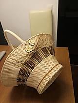 Košíky - Košík s rúčkou - 11659055_