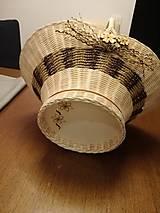 Košíky - Košík s rúčkou - 11659056_