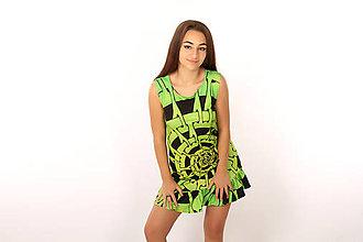 Šaty - Hypnotická špirála - Šaty - 11657292_