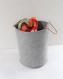 Košíky - Koš na prádlo, ihneď - 11655871_
