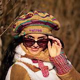 Čiapky - Origo baretka hačkovanec II - limit - 11657900_