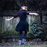 Šaty - Origo šaty puff kruh - 11658160_
