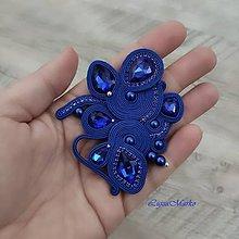 Brošne - Sandra (Modrá) - 11658435_