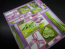 Úžitkový textil - Prestieranie tulipány - 11662474_