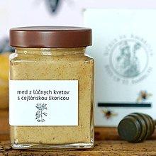 Potraviny - med z divých kvetov s cejlónskou škoricou - 11661937_