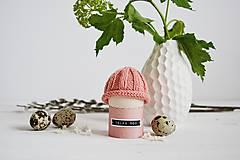 Dekorácie - Veľkonočná dekorácia - pletená čiapočka II - 11659947_