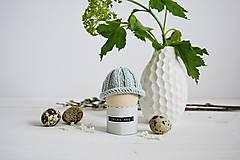 Dekorácie - Veľkonočná dekorácia - pletená čiapočka II - 11659953_