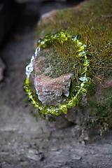 Náramok machovo - zelený