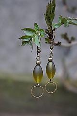 Náušnice - Olivy