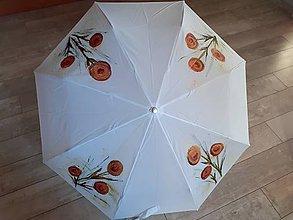 Iné doplnky - dáždnik ručne maľovaný - 11661946_