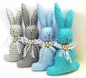 Dekorácie - Veľkonočný zajačik - 11660605_
