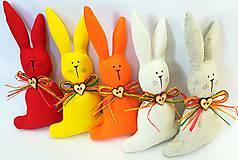 Dekorácie - Veľkonočný zajačik - 11660760_