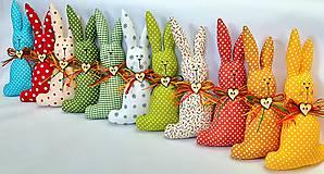Dekorácie - Veľkonočný zajačik - 11660777_