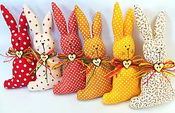 Dekorácie - Veľkonočný zajačik - 11660809_