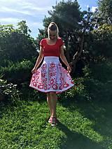 Sukne - Maľovaná sukňa - 11660664_