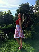 Sukne - Maľovaná sukňa - 11660665_
