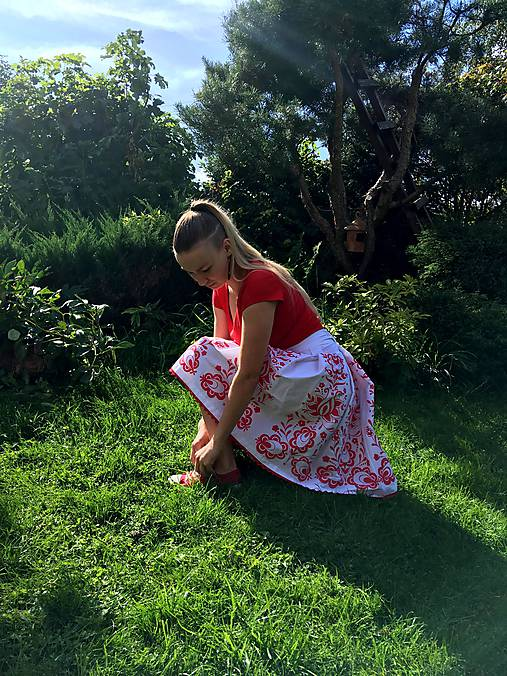 Maľovaná sukňa