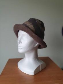 Čiapky - Elegán - plstený klobúk - 11664151_