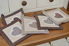 Úžitkový textil - Hnedé chňapky - 11662877_
