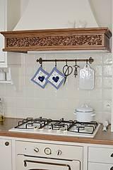 Úžitkový textil - Modré kockované chňapky - 11662892_