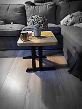 Nábytok - Konferenčný stolík jaseň - 11662494_