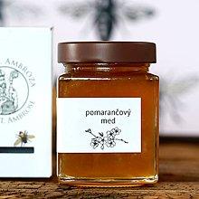 Potraviny - pomarančový med - 11664416_