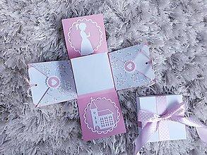 Krabičky - Exploding box na prijímanie - 11662521_