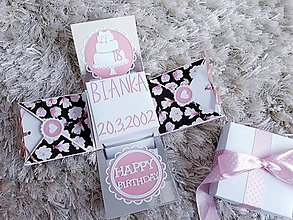 Krabičky - Exploding box na narodeniny - 11662528_