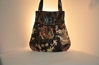 Veľké tašky - KABELKA - kord - 11665137_
