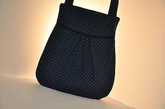 Veľké tašky - KABELKA - ako pepitko - 11665200_