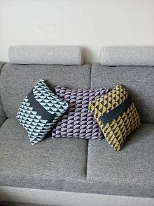 Úžitkový textil - pletené vankúše - 11663653_