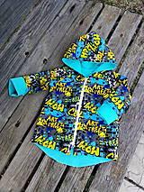Detské oblečenie - Dvojvrstvové kabátiky - teplákovina - 11664107_