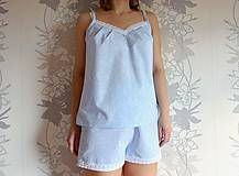 Pyžamy a župany - Pyžamové nohavice krátke - 11663682_