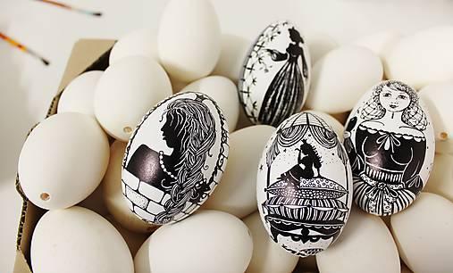 Dekorácie - Husacie vajíčka rozprávkové - kolekcia  - 11664527_