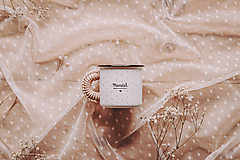 Nádoby - Smaltovaný hrnček - Manžel - 11663219_