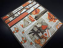 Úžitkový textil - Sada vintage srdiečka,ruže - 11666290_