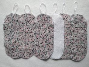 Úžitkový textil - odličovacie tampony A6 - 11666728_