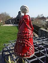 Socha - Záhradná bábika - 11668052_