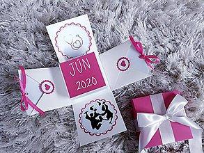 Krabičky - Exploding box na promócie - 11666044_