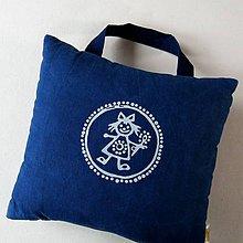 Úžitkový textil - PANENKA - polštářek - 11667580_