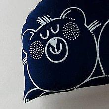 Úžitkový textil - MÉĎA - polštář - 11667803_