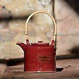 Nádoby - Čajová konvička Kostka 2l - v kraji vína - 11667827_