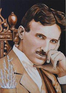 Obrazy - Obrazy na želanie, Nikola Tesla - 11667999_