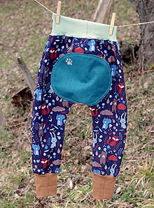 Detské oblečenie - softshelLOVE...v čučoriedkovom lese - 11669407_
