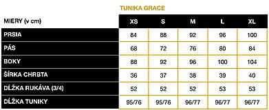 Tuniky - TUNIKA GRACE - black & white - 11667798_