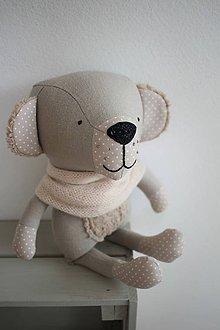 Hračky - Medveď Bolek (Hnedá) - 11668368_