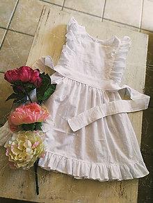 Detské oblečenie - Dievčenské šaty - 11666835_