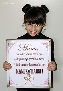 Tabuľky - MAMI - odkaz pre mamku 2 - 11669644_