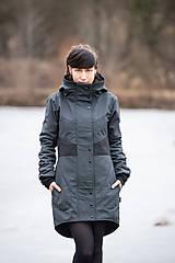 Kabáty - Kabát ROSA Melange - 11671503_