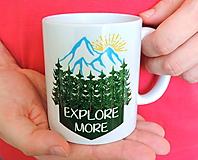 Nádoby - Explore more - hrnček - 11669560_